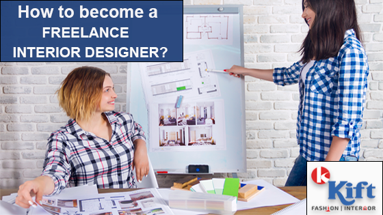 How do i become a freelance interior designer?
