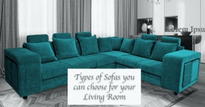 Types of sofas for living room