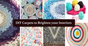 DIY Carpets to Brighten your Interiors